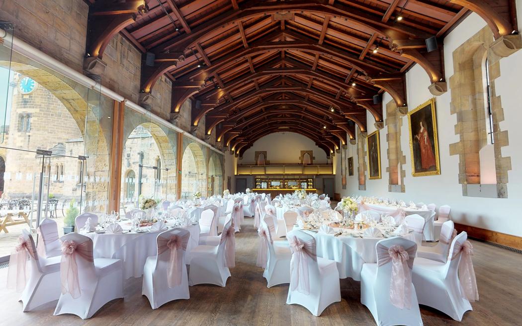 Coco wedding venues slideshow - Castle Wedding Venue in Northumberland - Alnwick Castle