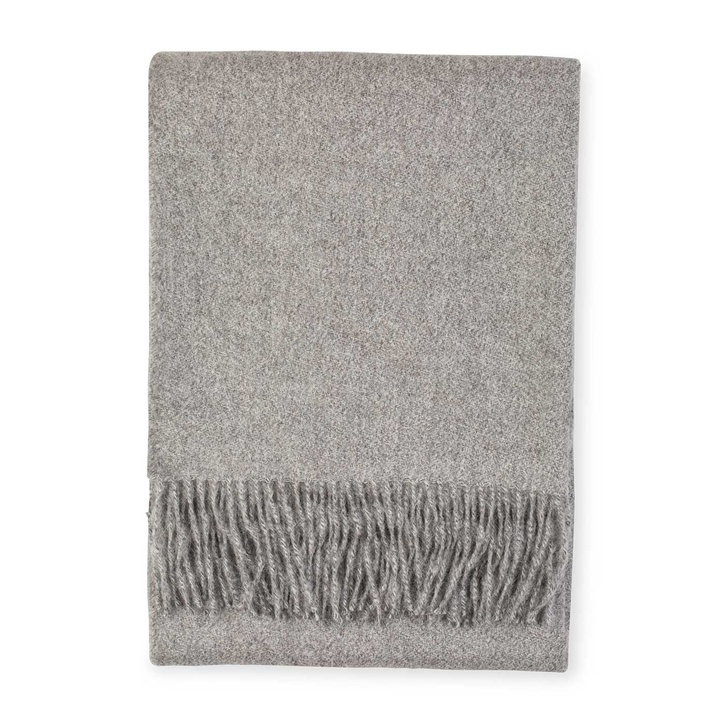 Alpaca Throw (Slate)