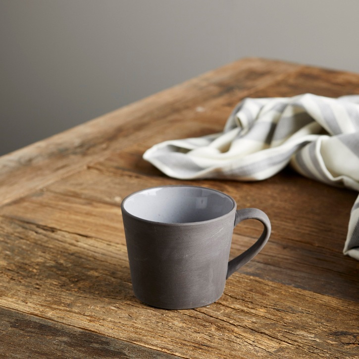 Modern Rustic Stoneware Mug