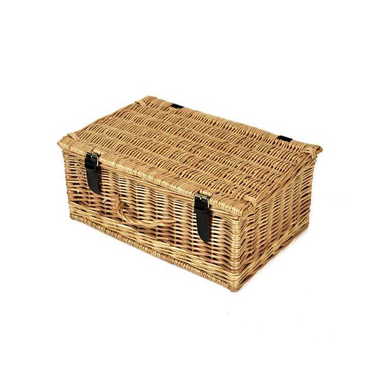 Natural Wicker Hamper (16 Inch)