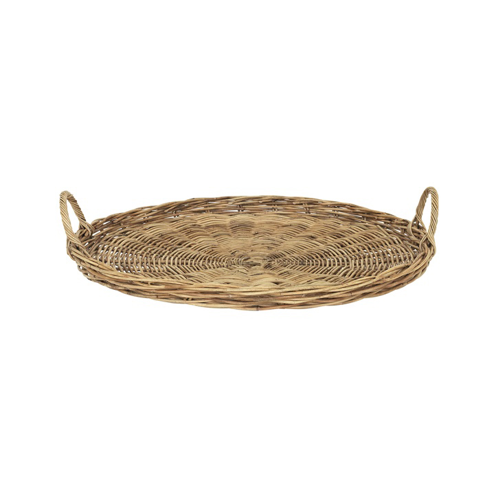 Wicker Rattan Tray (Large)
