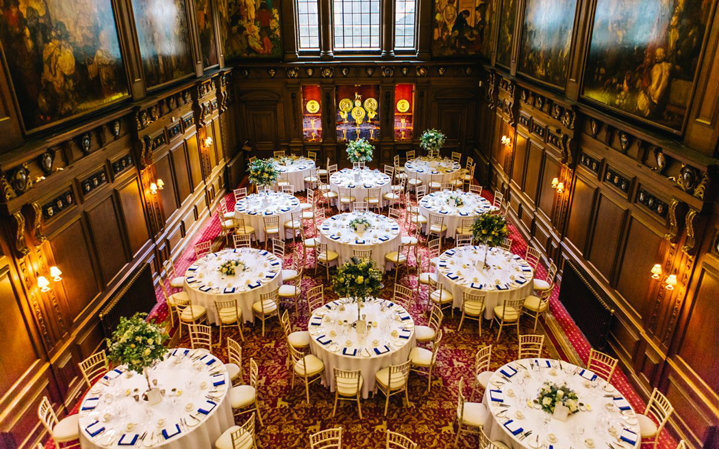Coco wedding venues slideshow - Historic Wedding Venue in London - Skinners Hall.
