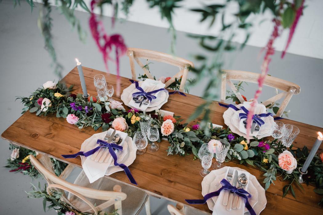 Modern Rustic Wedding Inspiration - The Barn at Avington