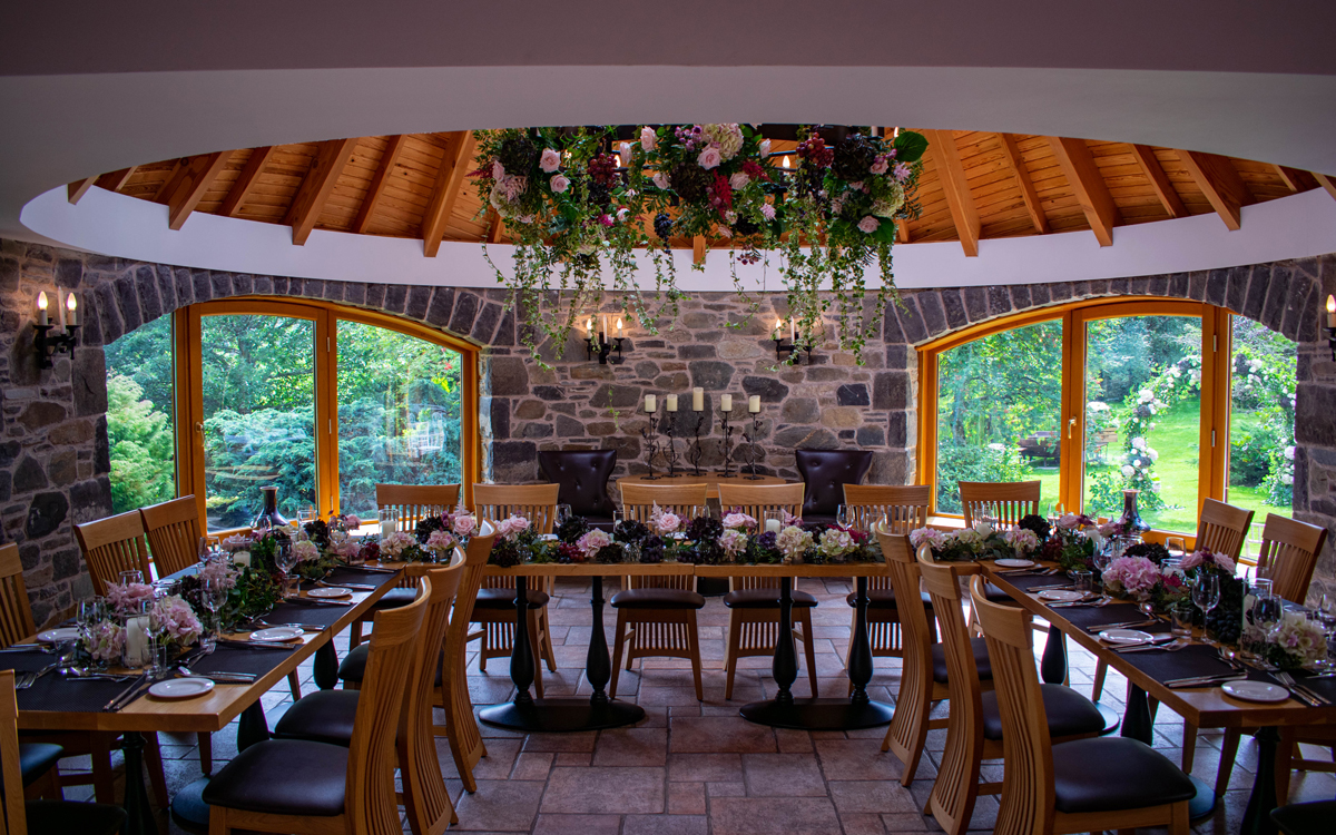 Coco wedding venues slideshow - Relaxed Destination Wedding Venue in Scotland - Errichel.
