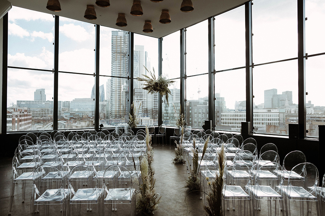 The Thoroughly Modern Marriage at ACE Hotel - London Wedding Venue.