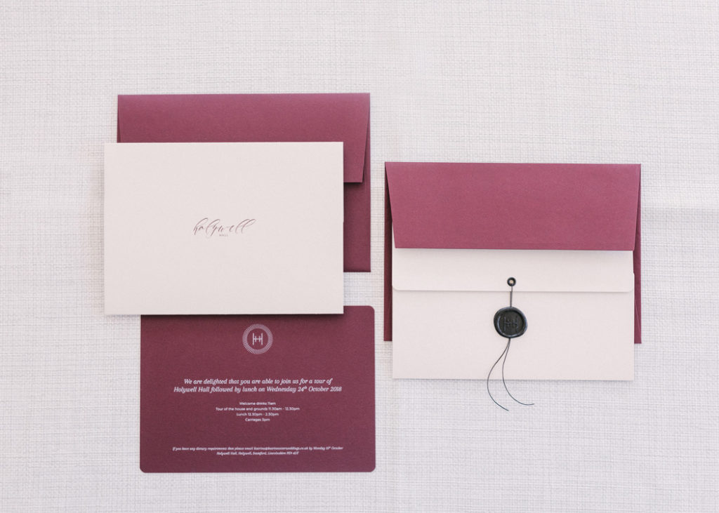 Image by Hannah Duffy Photography | Planning by Katrina Otter Weddings | Stationery by Bureau Design.