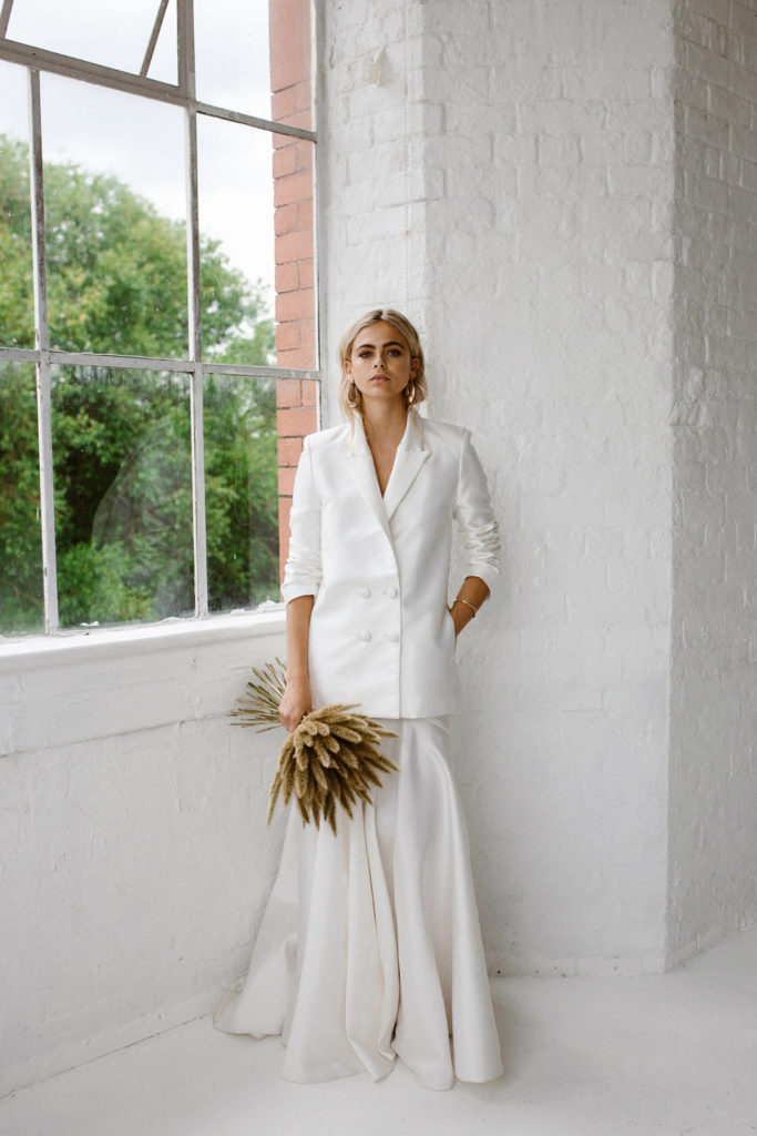 Image by Agnes Black | Planning & Styling by One Stylish Day | Bridal Fashion by Halfpenny London | Dried Bouquet by Maybe May.