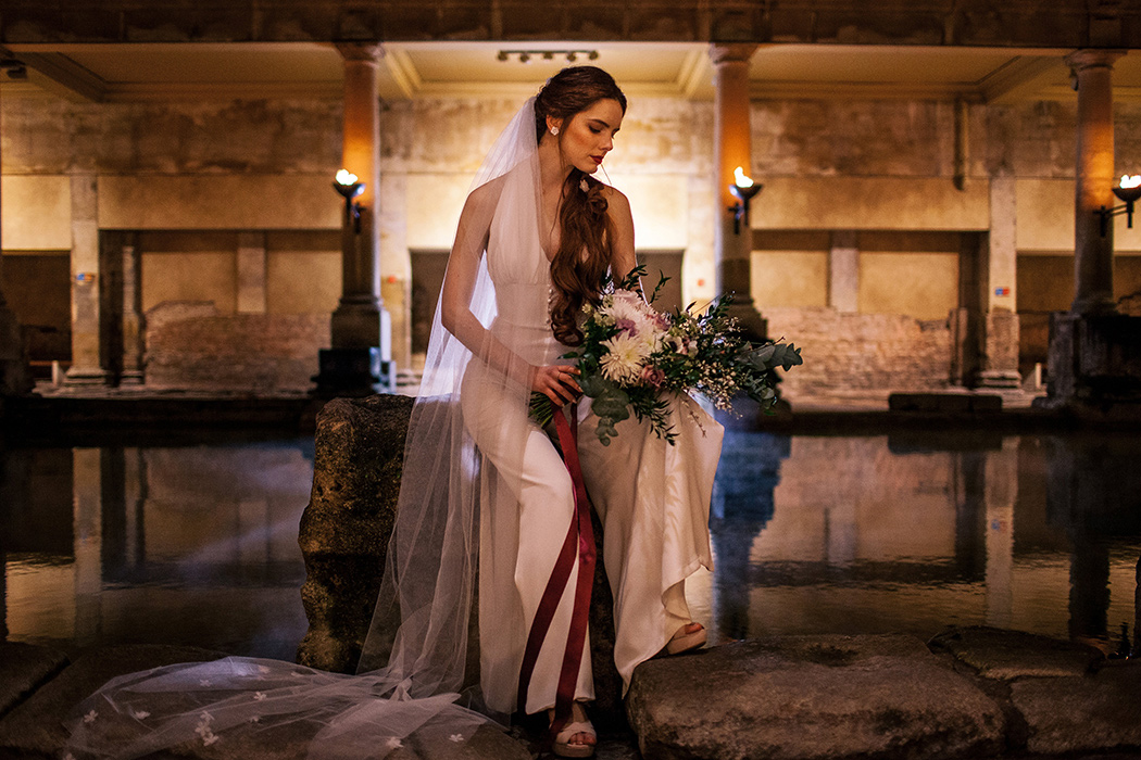 Bridal Inspiration - Little London at The Roman Baths