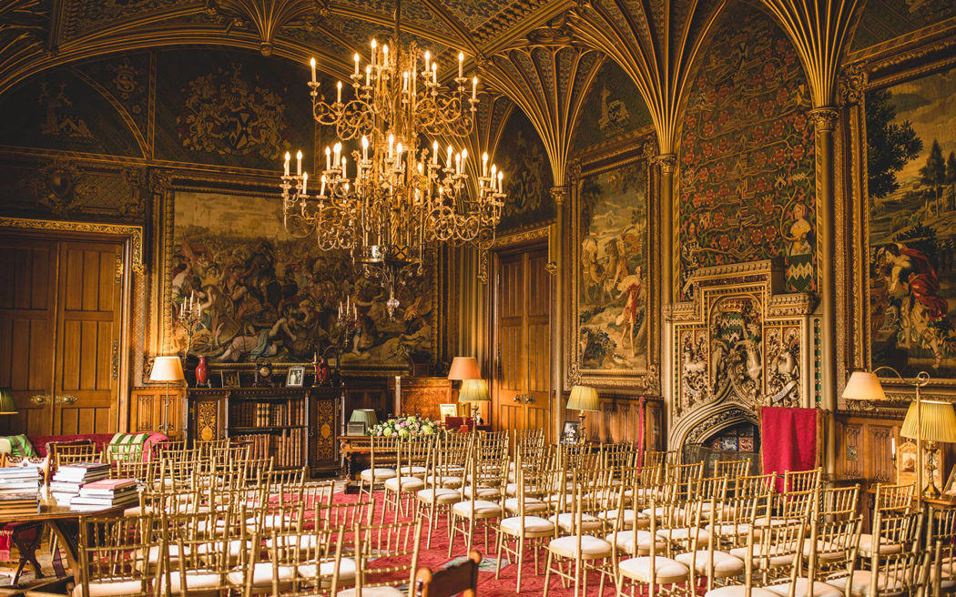 Coco wedding venues slideshow - Castle Wedding Venue in West Midland - Eastnor Castle.