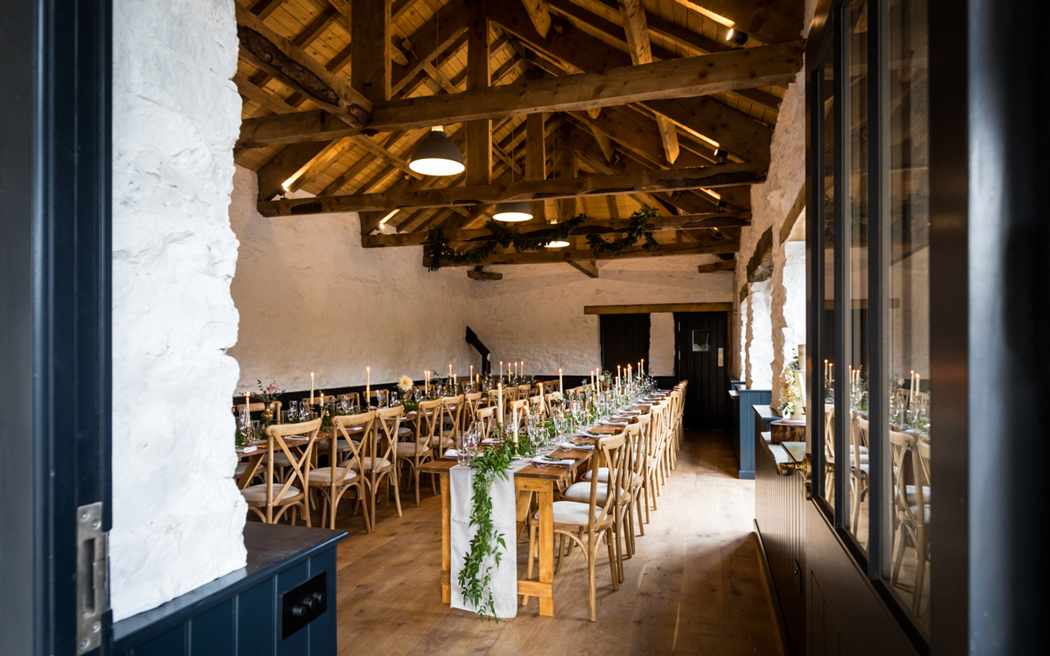 Coco wedding venues slideshow - Rustic Wedding Venue in North Yorkshire - Telfit Farm.