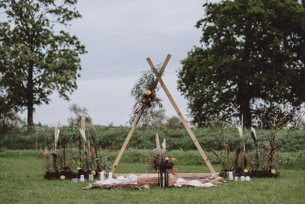 Bohemian Tipi Wedding Inspiration - Sami Tipi