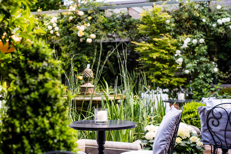 Image courtesy of The Ivy Chelsea Garden.