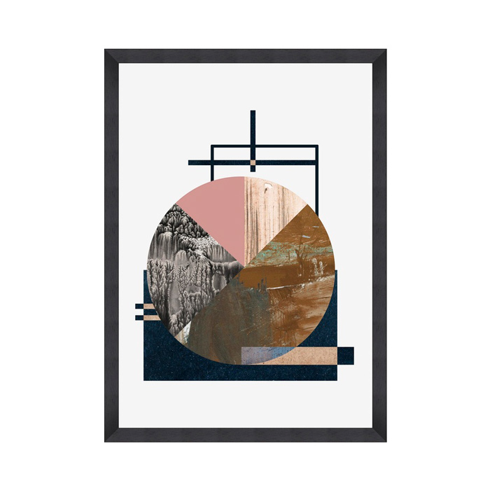 Alchemy, Black Framed Print