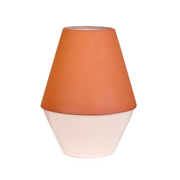 Diabolo Vase; Terracotta