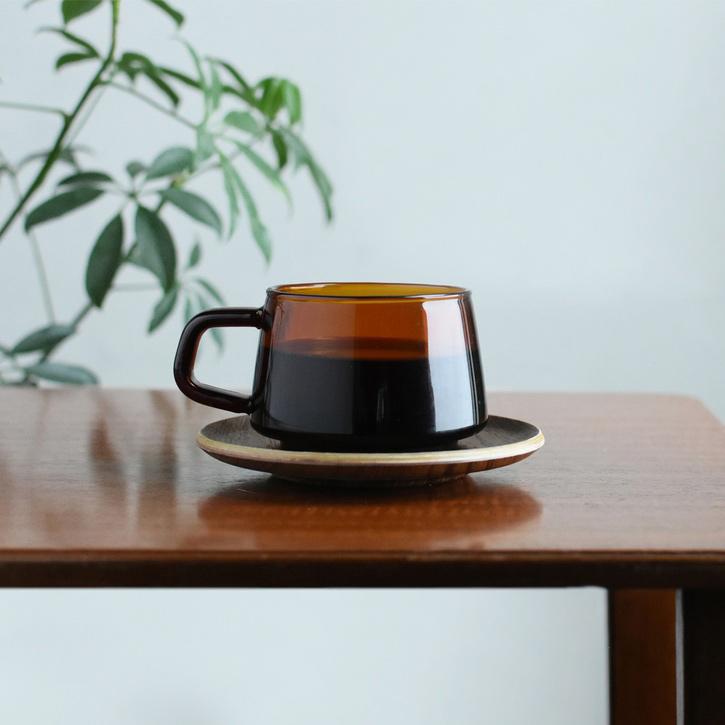 Sepia Cup & Saucer