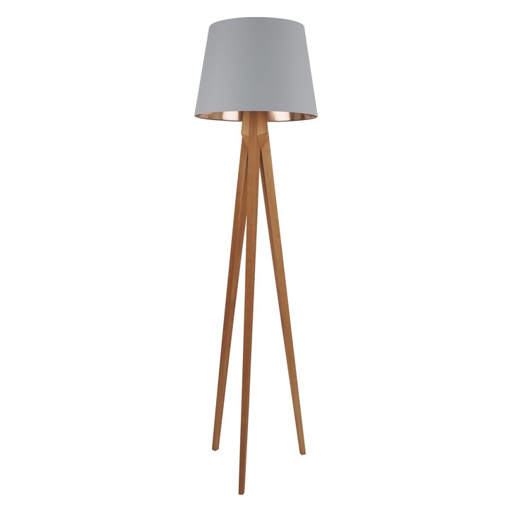 Wooden Floor Lamp