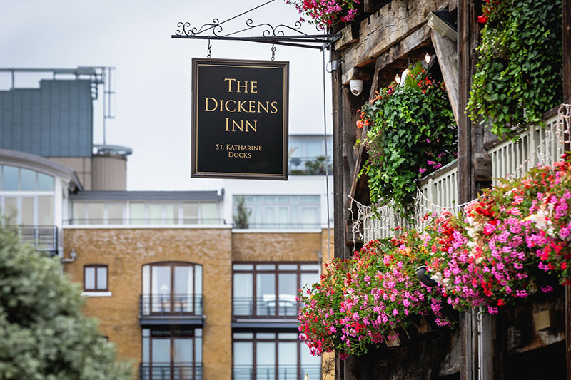 Image courtesy of The Dickens Inn.