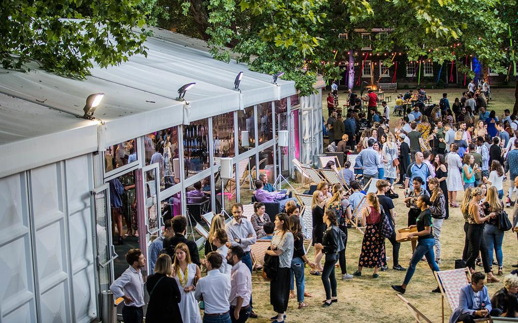 Coco wedding venues slideshow - Outdoor Wedding Venue in Shoreditch London - Shoreditch Gardens