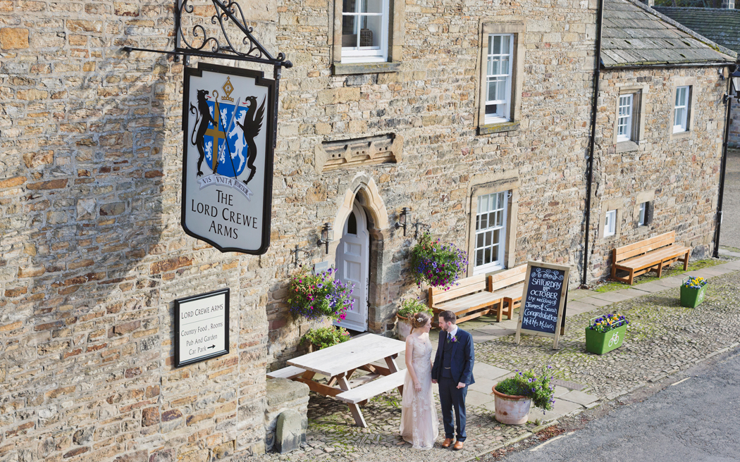 Coco wedding venues slideshow - Country Pub Wedding Venue in Northumberland - Lord Crewe Arms