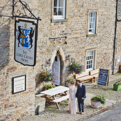 See more about Lord Crewe Arms wedding venue in Northumberland,  North East