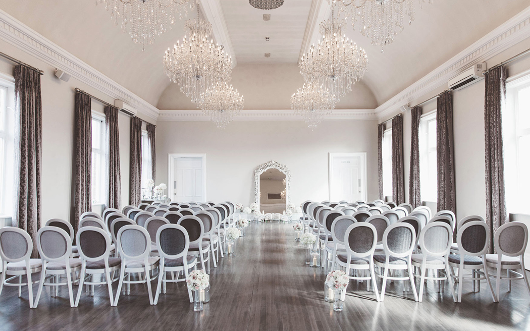 Coco wedding venues slideshow - Elegant Townhouse Wedding Venue in Derbyshire - Amalfi White