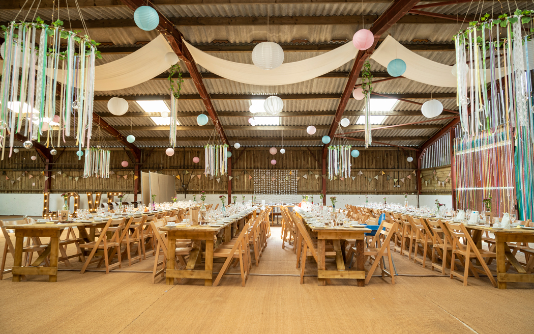Coco wedding venues slideshow - Rustic Barn and Tipi Wedding Venue in Wales - Gwaenynog Farmhouse