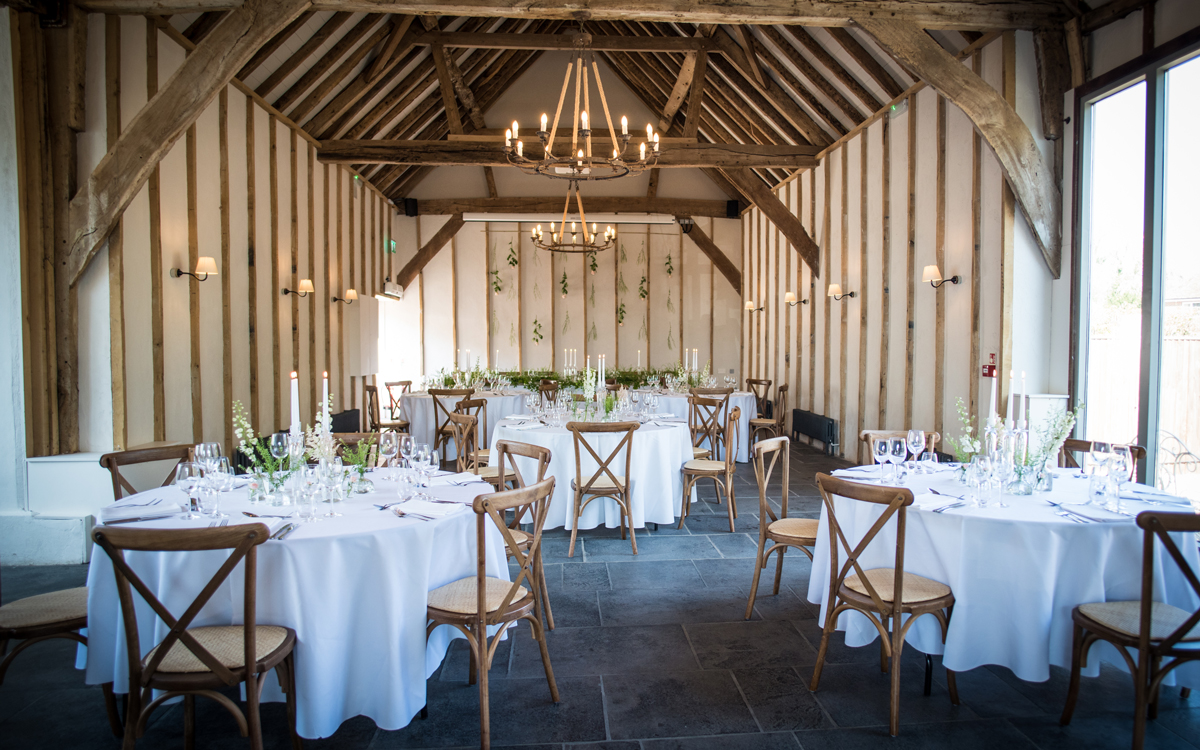Coco wedding venues slideshow - Barn Wedding Venue in Hampshire - Kimbridge Barn