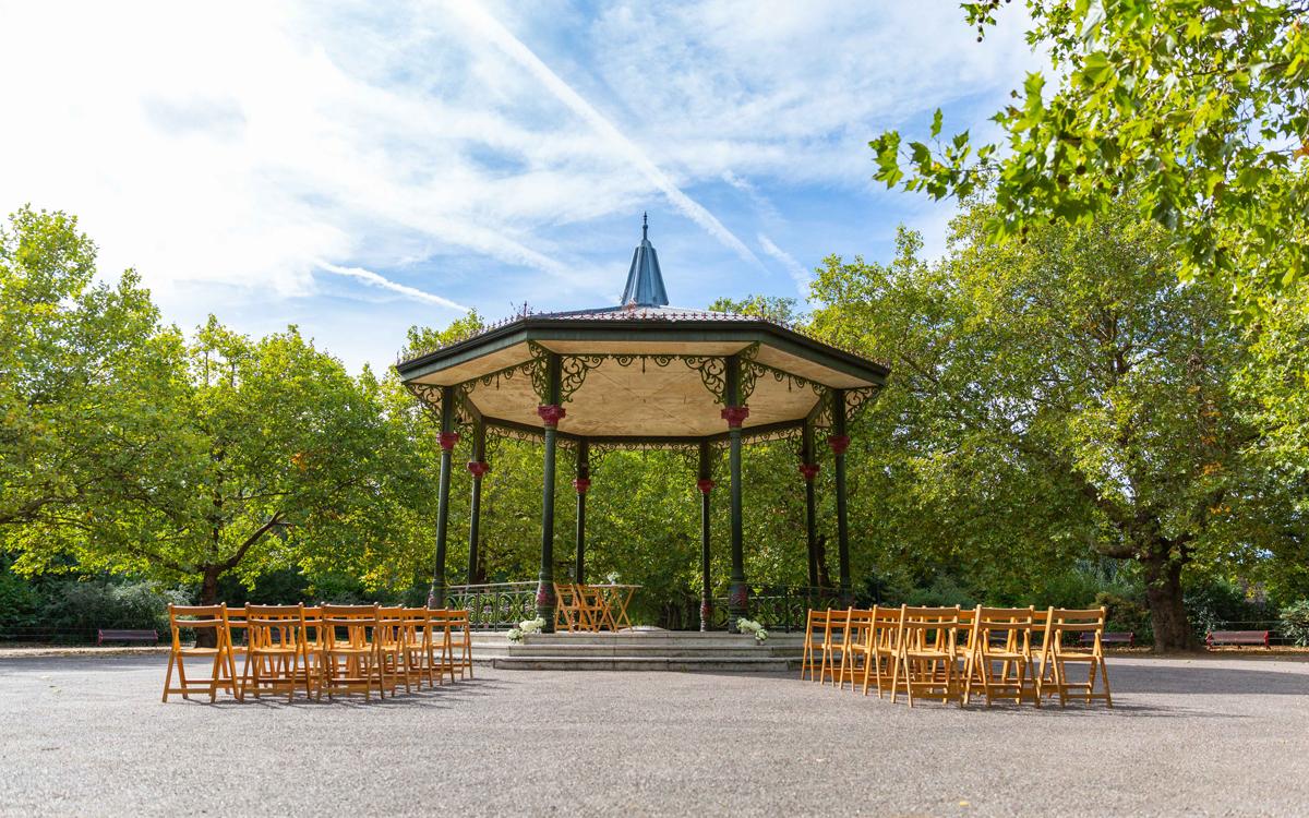 Coco wedding venues slideshow - Garden and Marquee Wedding Venue in London - Battersea Park