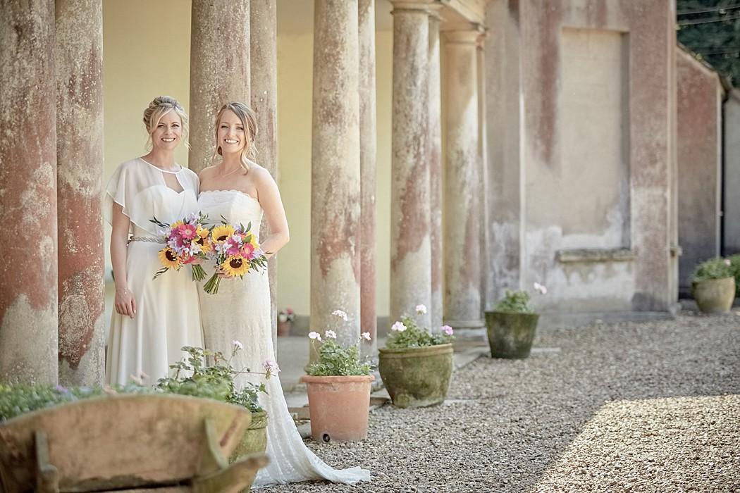 Flexible Wedding Venue - Katie & Sophie's Pennard House Wedding