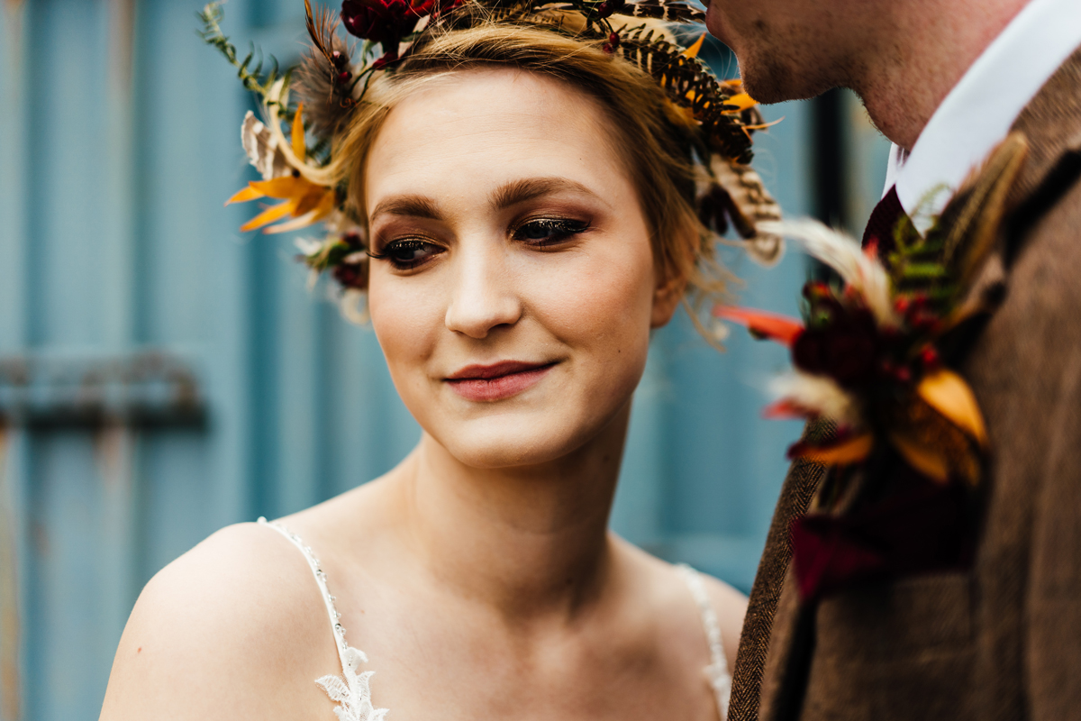 Autumn Wedding Inspiration at Hunstmill Farm in Buckinghamshire
