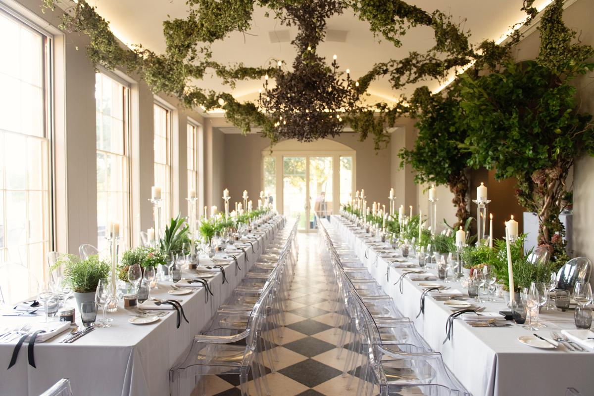 Couture Wedding Inspiration - Liz & Gary's Wilderness Wedding