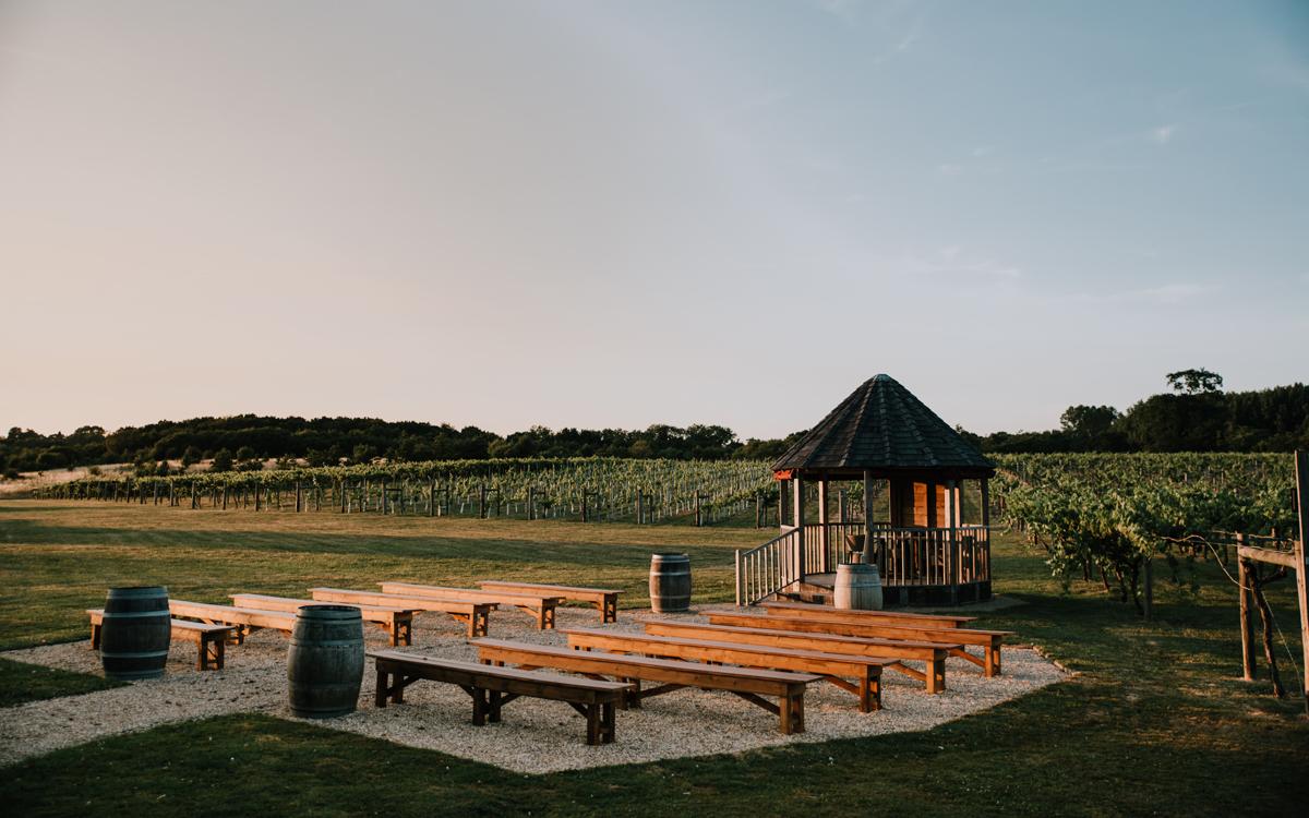 Coco wedding venues slideshow - Rustic Vineyard Wedding Venue in Hampshire - Three Choirs Vineyards