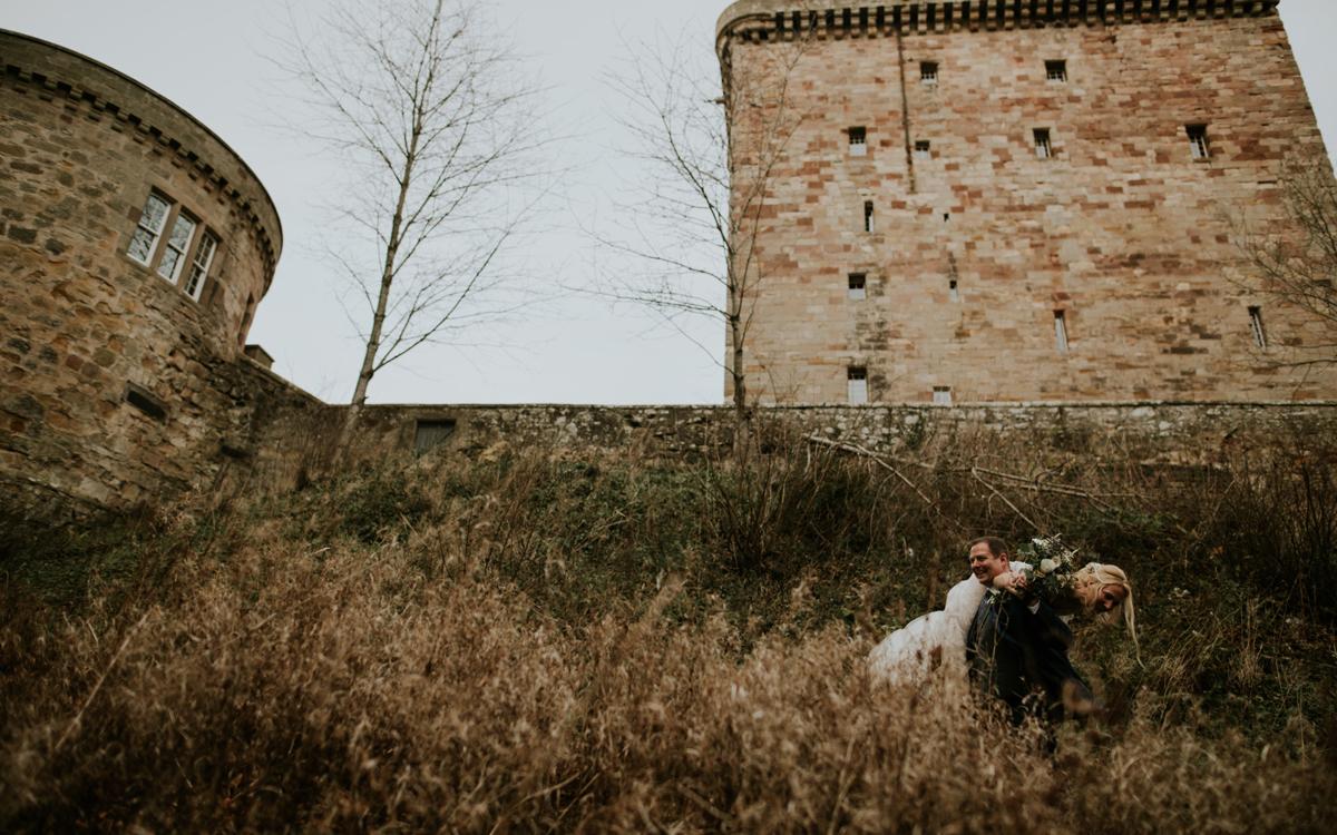 Coco wedding venues slideshow - Castle Wedding Destination - Borthwick Castle in Scotland