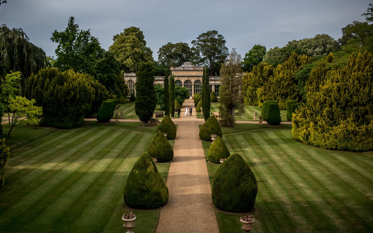 Coco wedding venues slideshow - Orangery Wedding Venue in East Midlands - Castle Ashby Walled Garden