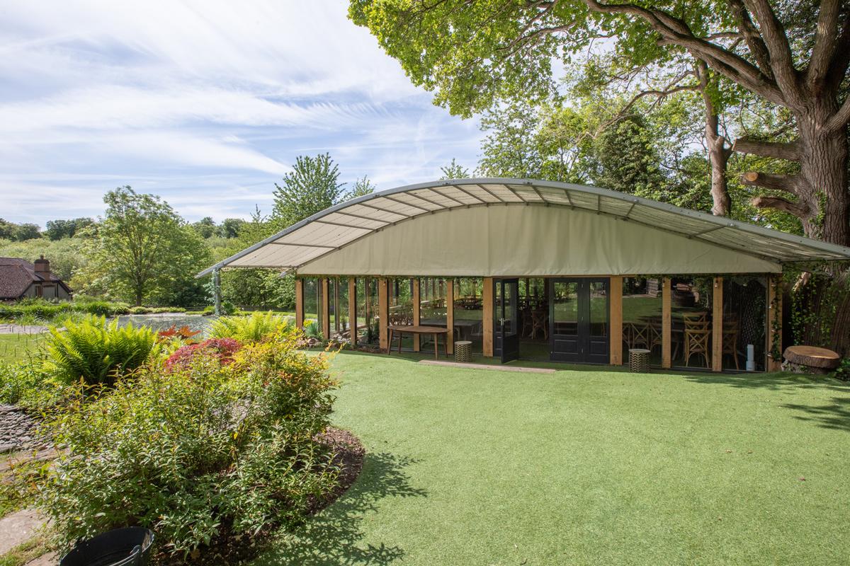 Green House Pavilion Wedding Venue at The Copse