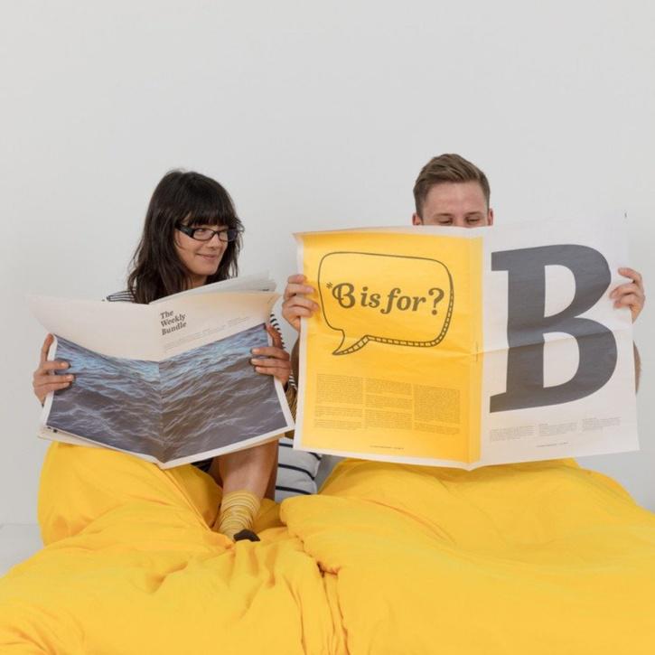 Double Bundle Bed, Sunshine Navy