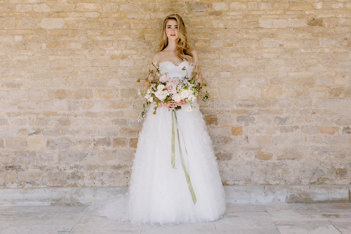 Quintessentially English Wedding Inspiration at Holywell Hall