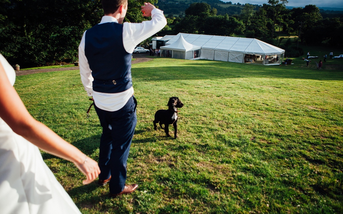 Coco wedding venues slideshow - Relaxed Outdoor Wedding Venue in Wales - Clawdd Offa Farm