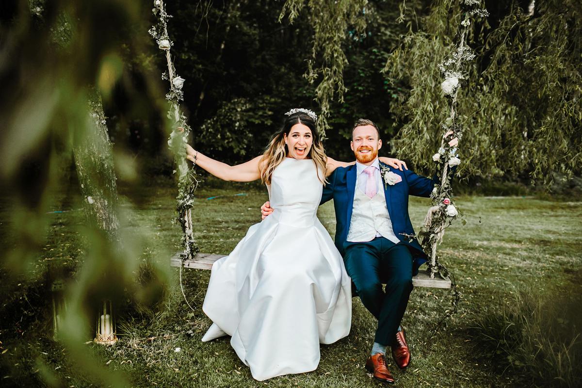Spring Marquee Wedding Inspiration at Spirit Lake in Surrey