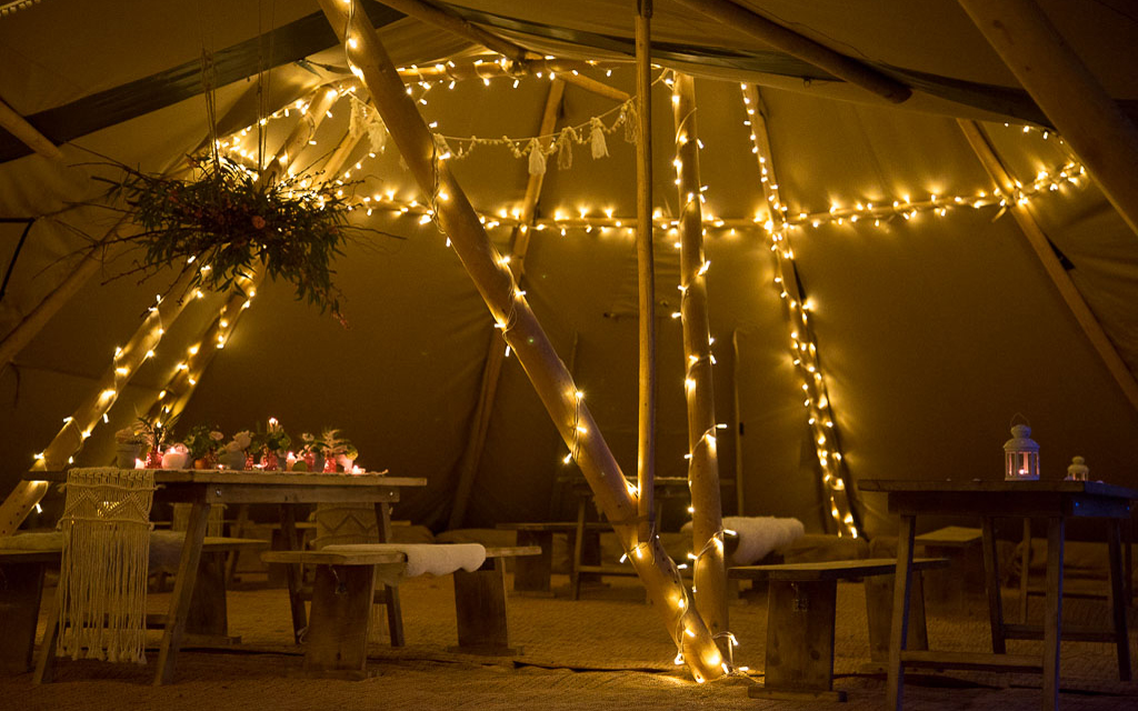 Coco wedding venues slideshow - Tipi Wedding Venue in Herefordshire - The Orchard at Munsley