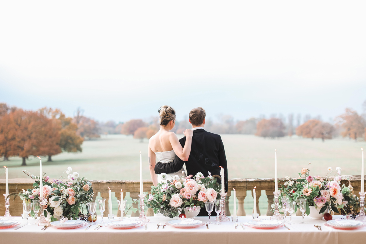 Classic Wedding Styling at Kirtlington Park in Oxfordshire
