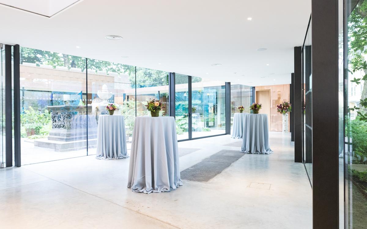 Coco wedding venues slideshow - Garden Wedding Venue in South London - Garden Museum