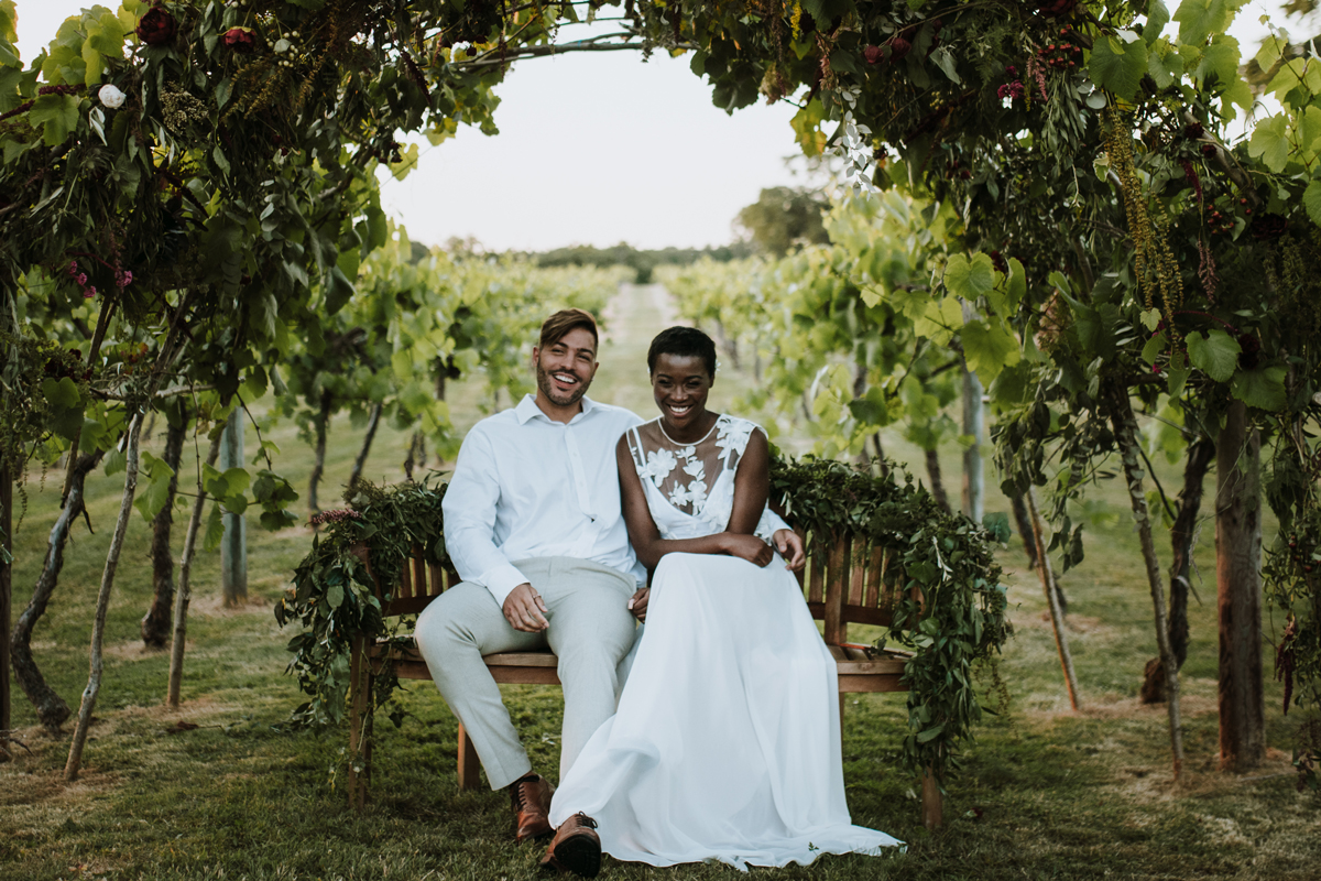 Italian Inspired Wedding with Grazing Feast at Three Choirs Vineyard