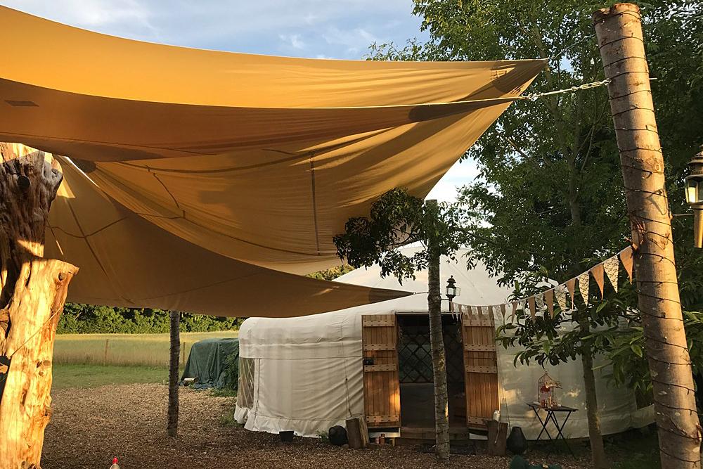 Image courtesy of Plush Tents Yurt Village.