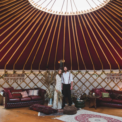 See more about Plush Tents Yurt Village wedding venue in West Sussex,  South East