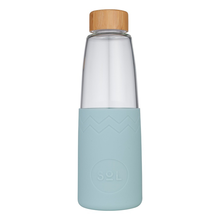 Water Bottle; Cool Cyan