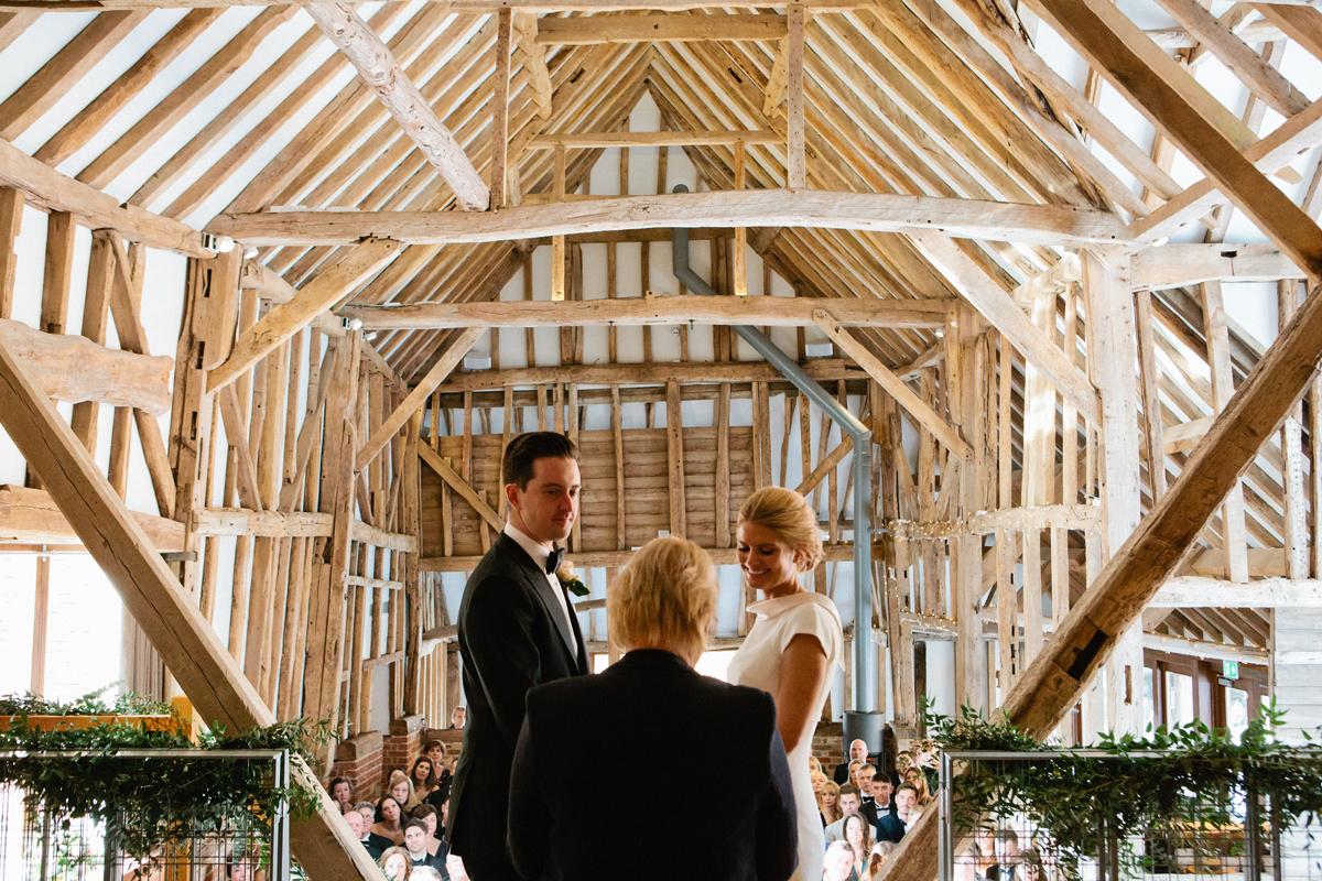 Winter Wedding Inspiration - Kate & Michael's The Oak Barn Wedding