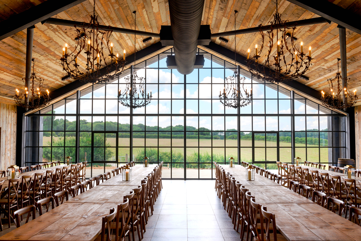 Exciting New Countryside Wedding Venue in Surrey - The Barn at Botley Hill