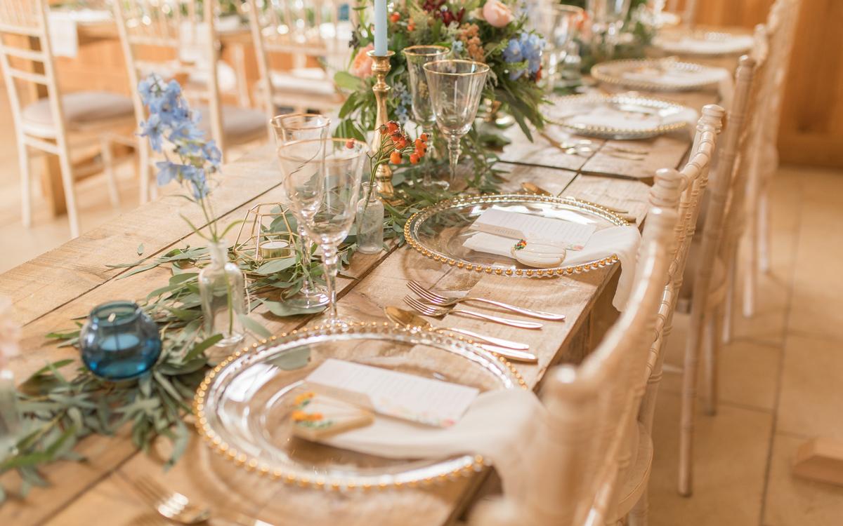 Pastel Autumn Wedding Inspiration at Delbury Hall in Shropshire