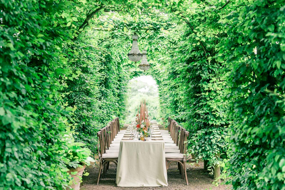 Outdoor Wedding Inspiration - Wild Romance at Pauntley Court